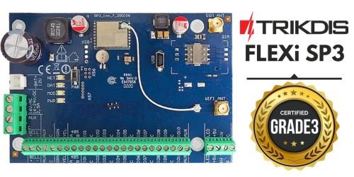 A Trikdis FLEXi SP3 GRADE 3 minősítést szerzett