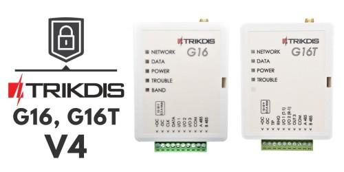 Érkezik a G16 és G16T GSM átjelző v4 hardver változata!