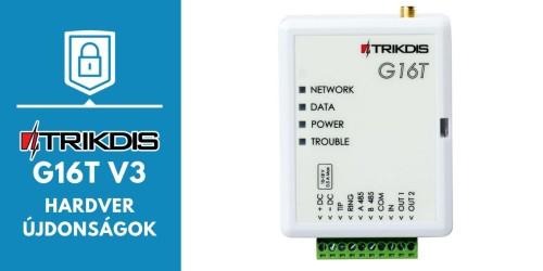 Újdonságok a G16T v3 kommunikátorban!